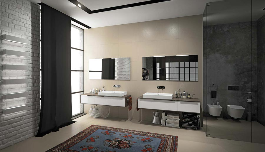 Monari ceramica arredo bagno ceramiche posa in opera collaborazioni progetti - Accessori bagno modena ...